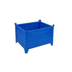 非标重型堆垛铁箱铁框金属周转箱物料箱废料箱工业用铁箱