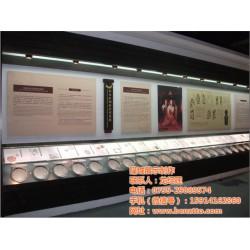 隆城展示(图),广东博物馆展示柜厂家,展示柜