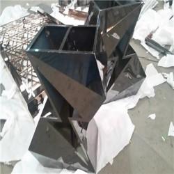 花盆厂家定制不锈钢花盆 金属花箱省内包邮