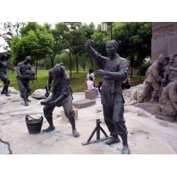 人物雕塑厂家|人物雕塑|昌盛铜雕供应批发