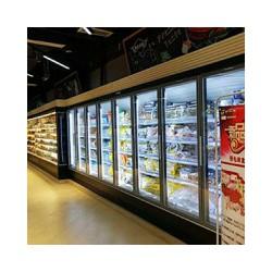 分体玻璃门冷冻柜上哪买好——冰柜厂家直销