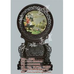 郑州汴绣花鸟画 、【天地通宝】、郑州汴绣