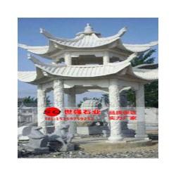 精湛的凉亭雕刻尽在世强石业|北京园林古建