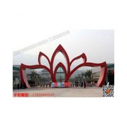 华阳雕塑 四川艺术大门 四川大学校园大门 工业园区大门
