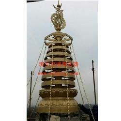 便宜的铜塔刹,瑞安博尊法器供应——安徽塔