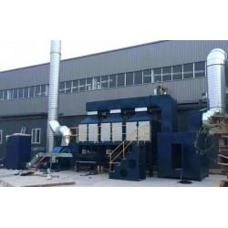 山东定制各种风量废气处理催化燃烧/光氧催化设备厂家