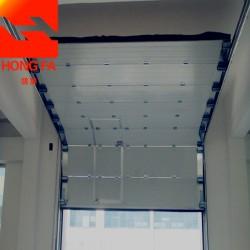厂家定制电动提升门工业滑升门垂直提升门 资质齐全
