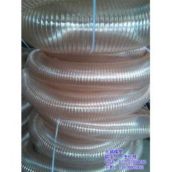 透明钢丝风管选兴盛|耐高温钢丝通风管|青岛