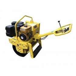 艾特森手扶单钢轮压路机LS650R-马路压实机
