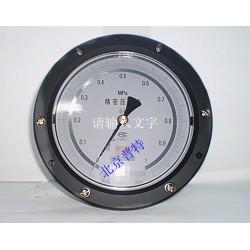 YB150ZT轴向带边压力表