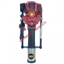 水利抢险汽油打桩机HH95MP/内燃一体式植桩机