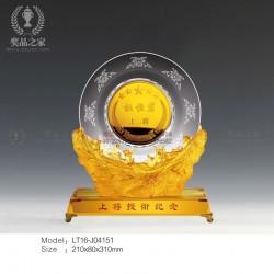 授衔仪式纪念品 重大活动纪念品定做 金币奖盘奖牌制作厂家