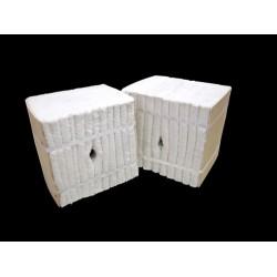 玻璃退火炉用含锆型陶瓷纤维模块 节能轻质炉衬质优价实
