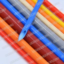 白色玻纤管,编织软管,东莞厂家直销,绝缘套管2500v