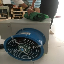 冬季大棚温室暖风机 电动热风炉