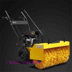 沧州市口碑认可 手扶式地面扫雪机 大棚厂房地面清雪机