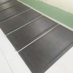 车间防滑防疲劳脚垫,过道防疲劳地垫,无味防静电垫