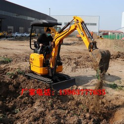 小型履带式挖掘机果园地面挖土机小型挖掘机价格