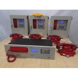 管廊光纤消防电话主机/光纤紧急电话/隧道有线电话机
