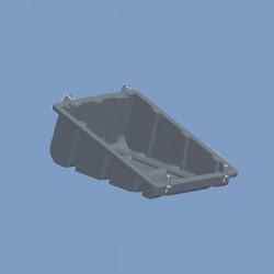 PP塑料屋顶太阳能电池板支架,注塑支架