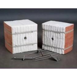 山东金石耐高温陶瓷纤维硅酸铝板 陶瓷纤维硅酸铝纸模块 异型件
