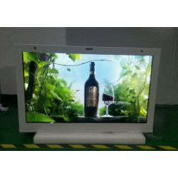 东莞惠华49寸互动触摸液晶显示屏、透明液晶展示柜