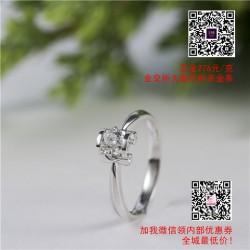 情钻石戒指的定制|钻石戒指|【金利福】