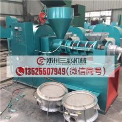 长沙棉籽榨油机/小型芝麻榨油机价格低厂家